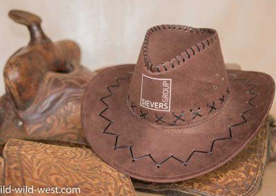 """Cowboyhut """"Classic"""" mit Aufdruck"""