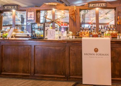 Saloonbar als Promotion-Bar